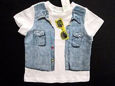 First Impressions Infant & Toddler Boys White Short Sleeve Graphic T-Shirt