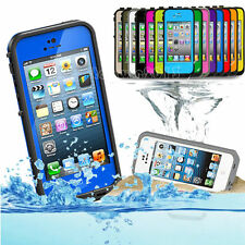 Shockproof Waterproof Dirt Proof Heavy Duty Case Cover For Apple iPhone 5 5S