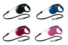 Pet Dog Flexi New CLASSIC Retractable Leash Extensible Cord Lead M 5M Up to 20Kg