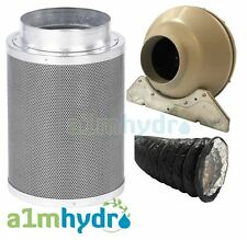 Rhino Hobby Filter Kit Rvk Fan Extraction 5M Combi Ducting Hydroponics