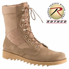 "10"" Desert Tan BOOT - GI Jungle Style with Wave or Ripple Sole Rothco 5058"