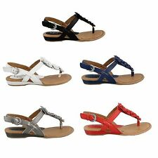 Born B.O.C Womens Sonoran Comfort Ankle Strap Buckle Thong Flats Fashion Sandals