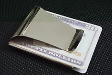 Wholesale Man Blank Double Sided Credit Card Holder Wallet Money Clip 3 Colors