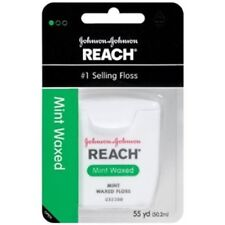 1x, 3x or 6x Reach Waxed Floss (Spearmint) 50m - Bulk Bulk & Save! From $10ea