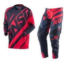 Answer NEW 2016 Mx Alpha ANSR Dirt Bike BMX MTB Red Black Motocross Gear Set