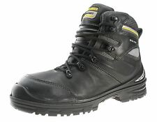 Safety Jogger Safety Steel Toecap Leather Work Mens Boots Black