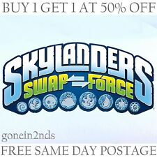 SKYLANDERS SWAP FORCE FIGURES **TRAP TEAM/SUPERCHARGES**
