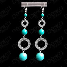 925 Sterling Silver Earrings Silver Rings & Gemstones Drop Dangle Semi Precious