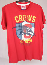 Official AFL Adelaide Crows Mens Mascot Tee Size Small