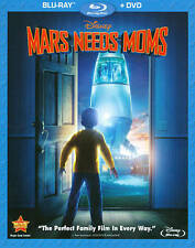 Mars Needs Moms (Blu-ray/DVD, 2011, 2-Disc Set)