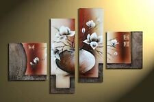 Oil Painting Canvas Painting Home Decor Wall Art Pictures Abstract Flower Large