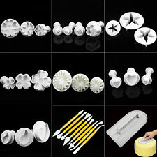 Cake Bread Cookie Decorating Fondant Sugarcraft Cutters Plunger Mold Mould Tools