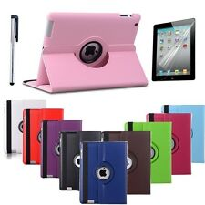 Leather 360 Degree Rotating Smart Stand Case Cover For  Apple iPad Mini 4