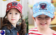 Kids Girl Boy Children Navy Sailor anchor Baseball Golf Sports Hat Cap 3-8years
