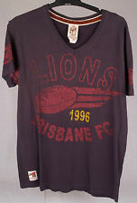 First 18 Official AFL Brisbane Lions Mens Supporter Tee Size S