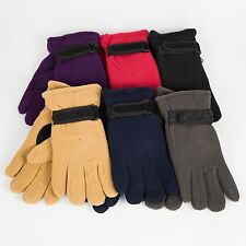 Fleece Unisex Winter Gloves Warm Thermal Insulation Lined Soft Fluffy USA Seller