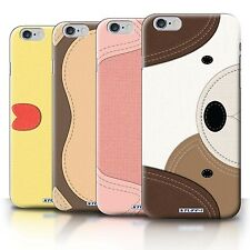 STUFF4 Back Case/Cover/Skin for Apple iPhone 6S+/Plus/Animal Stitch Effect
