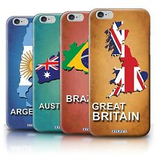 STUFF4 Back Case/Cover/Skin for Apple iPhone 6S+/Plus/Flag Nations