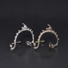 Fashion Dragon Snake Ear Cuff Clip Wrap Lure Stud Earring Gothic Punk Gifts 2Pcs