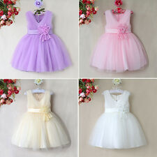 Flower Girls Party Dress Bridesmaid Wedding Formal Prom Christening Communion
