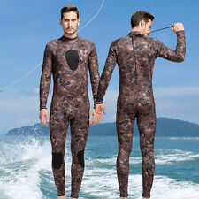 Men's 3mm Neoprene Warm Swimming Wetsuit Diving Jumpsuits Surfing Suit Wetsuits