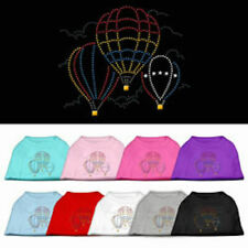 Dog Shirts - HOT AIR BALLOON Rhinestone - Poly/Cotton *Many Sizes and Colors*
