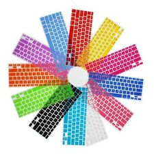 Soft Silicone Keyboard Protector  Cover Skin For Macbook Pro MAC 13 15 17 Air 13