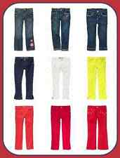 NWT Gymboree Jeans Pants Size 4 5 6 Denim White Navy Red Pink Yellow Solid Print