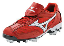 Mizuno Watley Superlite G2 Molded Softball Cleats 320297 Black, Red, Royal, Navy