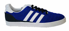 GENUINE MENS ADIDAS ORIGINAL CHATTAN TRAINERS (G96475) BLUE/WHITE