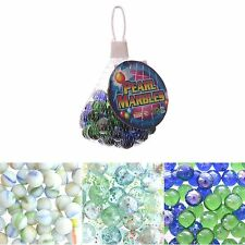 Marbles Bag 50 Glass in Net Traditional Toy Stockingfiller