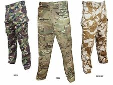 BRITISH ARMY TROUSERS - MTP - DPM - DESERT - USED GRADE 1 - MULTI BUY