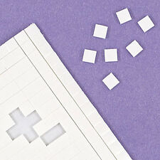 Double Sided Adhesive Sticky White Foam Pads 5mm x 5mm x 2mm - 400 Per Sheet