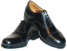 BRITISH ARMY ISSUE PARADE SHOES - RAF - USED -VARIOUS SIZES -  CADET SHOES