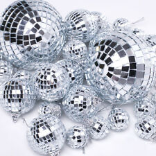 1/6pcs Hanging Mirror Ball Disco Gifts XMAS Tree Ornament Christmas Decorations