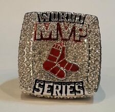 Boston Red Sox 2013 MVP World Series Championship ring 'ORTIZ' Size 8-14 US