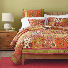 Dada Bedding Bohemian Bed of Roses Floral Print Exotic Patchwork Quilt - 2-3PCs