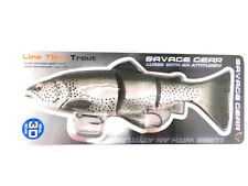 """SAVAGE GEAR 3D LINE THRU TROUT 12"""" SWIMBAIT FLOATING SLOW SINK SINKING R. TROUT"""