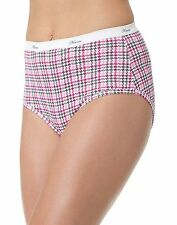 10 Hanes Women's Plus Cotton Briefs P540AD