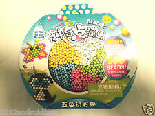 BEADOS Beads Refill Pack 500 Beads 5 Fabulous Colors New in Box FREE SHIPPING!
