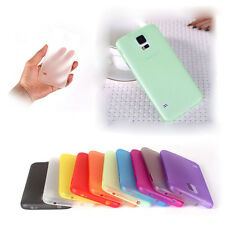 Ultra Thin Matte Clear Transparent Case Cover For Samsung Galaxy S5 i9600 Lot
