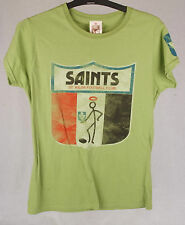 First 18 Official AFL St Kilda Saints Ladies Tee Size 10
