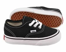 Vans Authentic Black White Infant Toddler Baby Boy Girl Shoes Size 4-10