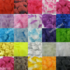 1000pcs Silk Rose Flower Petals Leaves Wedding Party Table Confetti Decorations