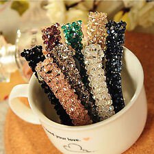 New Women Rhinestone Hair Barrette Hairpin Extension Clip Crystal Hair Accessory