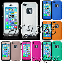 Waterproof Shockproof Dirt Snow Proof Protective Case Cover for iPhone 5 5G