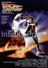 Back to the Future Movie Film Poster A2 A3 A4