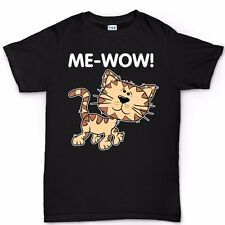 Me-Wow Meow Cat Funny Big Bang Sheldon Cooper T shirt Tee Various Colours Colors