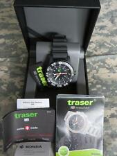 CAMMENGA TRASER H3 P6600 TRITIUM MILITARY WATCH - 200 METER - CHOICE OF BAND(3)