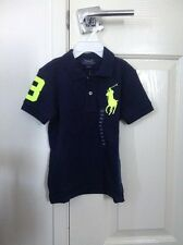 Ralph Lauren -  BOYS BIG PONY COTTON POLO SHIRT - GENUINE
